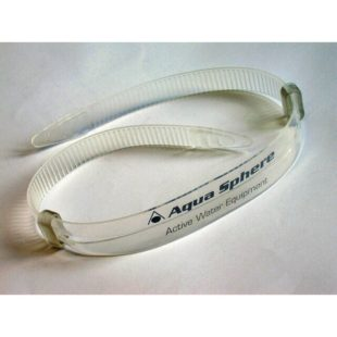 Aqua Sphere  silikonový pásek SEAL k brýlím transparent 16mm