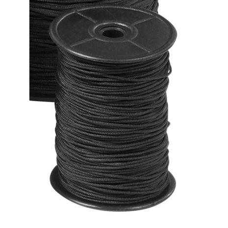 Omer černé  lanko průměr 1,5mm v metráži po 1m 6072-0000