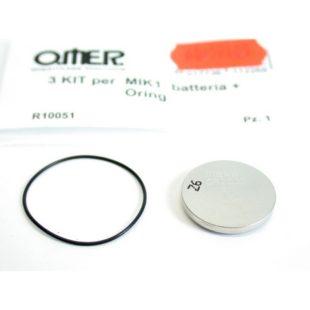 Omer baterie s O-kroužkem pro MIK1