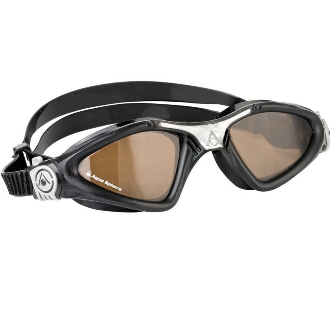 22cbf72fb Aqua sphere plavecké brýle KAYENNE polarizační zorník black/silver ...