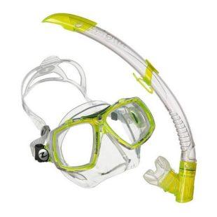 Technisub potápěčský set brýle (maska) a šnorchl Look 2  + Airflex Purge Valve Snorkel