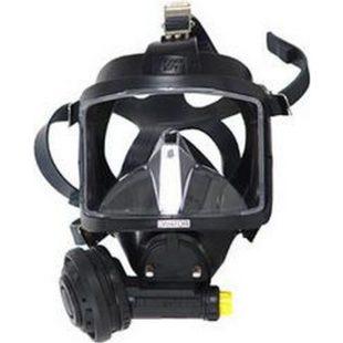 Interspiro celoobličejová maska AGA  MK II černý silikon podtlak