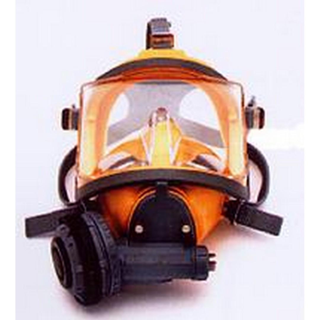 Interspiro celoobličejová maska AGA  MK II žlutý silikon podtlak