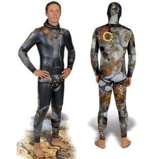 Omer neoprenový oblek Simbiox Camu 5 mm