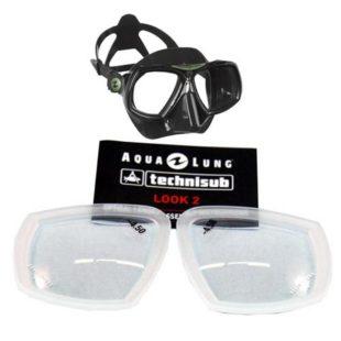 Technisub optické sklo LOOK2 – 1,0 až -4,0
