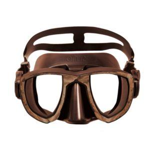 Omer  potápěčské brýle (maska)  Aries 39 Mimetic Brown silikon hnědý