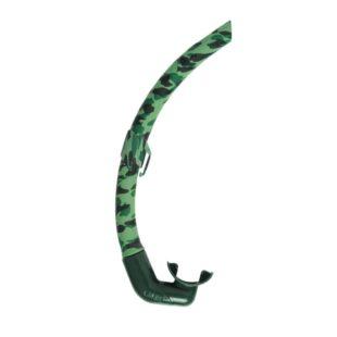 Omer šnorchl Zoom Mimetic Med silikon zelený